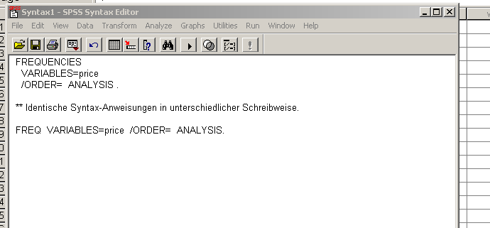 spss-syntax fenster